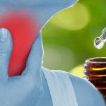 essential oil sore throat FI